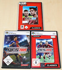 3 pc jeux collection pes pro evolution soccer football 2008 2009 2010 --- (2014)
