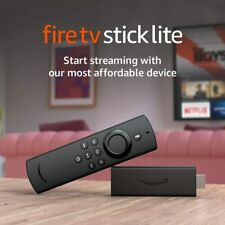 NEW Fire TV Stick Lite with Alexa Voice Remote - Latest Version 2020 Release