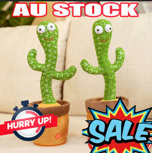 New Cactus that can Sing and Dancing Toy Electronic Shake Childhood DS