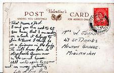 Genealogy Postcard - Family History - Jenkin - Newton Grange - Midlothian  U2831