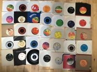 """20 x 7"""" - 80's VINYL RECORDS INSTANT STARTER RECORD COLLECTION"""