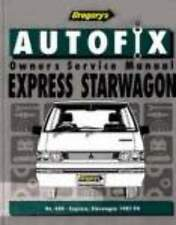 Mitsubishi Express/Starwagon Workshop Repair Manual 1987-1994 with MPN GAP06604