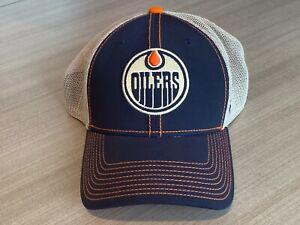 Edmonton Oilers Fanatics Flex Fit Hat Men's Size L/XL