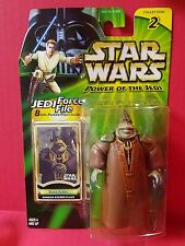 Hasbro Star Wars Power Of The Jedi Boss Nass Gungan Sacred Place Action Figure