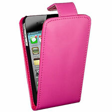 PINK PU LEATHER FLIP WALLET CASE COVER FITS APPLE IPHONE 5s