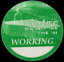 TORI AMOS 1996 Dew Drop Inn Concert Tour Backstage Pass Authentic stage OTTO #1