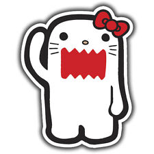 Hello Kitty monster domo-kun adesivo 110 x 85mm jdm euro