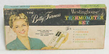 1950's The Betty Furness WESTINGHOUSE THERMOMETER SET in box