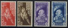 Regno - 1935 - SALONE AERONAUTICO - Serie completa gomma originale - MH