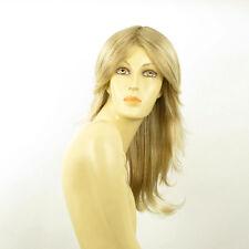 Perruque femme longue blond méché blond très clair ZOE 15t613