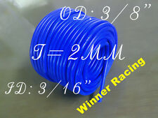 "ID 5mm 3/16"";OD 9mm 3/8"" Silicone Vacuum Tubing Hose/Pipe/Tube/Line 10-Feet FT"