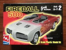 Amt 1/25 Fireball 500 Barris Kustom Plastic Model Kit 30260 Factory Sealed Rare