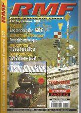RMF N°437 LES TENDERS DES 140 C / PONT BIAIS METALLIQUE / TGV 2 / R12 LILIPUT