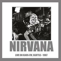 NIRVANA - LIVE ON KAOS-FM, SEATTLE 1987 (PICTURE DISC)   VINYL LP NEW!