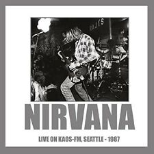 Nirvana Live on Kaos FM Seattle 1987 LP Picture Disc 180 Gram New/
