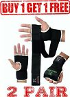 2 Pair Evo GEL Inner Gloves Boxing Bag Hand Wraps MMA Grappling Martial Art UFC