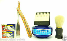MENS SHAVING SET...CUT THROAT RAZOR SHAVING SET... FAST & FREE POSTAGE