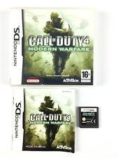 Call of Duty 4 Modern Warfare / Jeu Sur Nintendo DS, 3DS, 2DS Complet