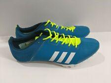 adidas Adizero Prime Finesse Running Spikes Blue Track Spike Sprinters 100M 200M