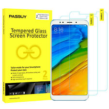 PASBUY 2Pack Tempered Glass Screen Protector Xiaomi Redmi Note 5 (Redmi 5 Plus)