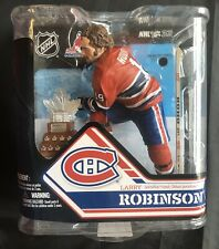 McFarlane Ice Hockey NHL 32 Larry Robinson w/Cam Smythe Trophy Action Figure
