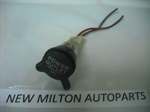 A GENUINE FORD GALAXY SEAT ALHAMBRA  VW VOLKSWAGEN SHARAN POWER OUTLET SOCKET