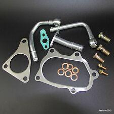 TD04L Turbo Gasket + Pipe Line Kit for Subaru Impreza Forester WRX Baja 58T 2.0L
