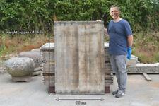 Reclaimed wooden board seasoned wood old plank panel 140 cm x 95 cm