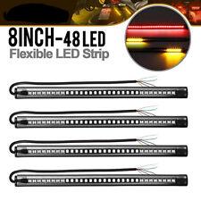 20 X Flexible LED Strip 48LED Motorcycle Tail Brake Turn Signal Running Lights