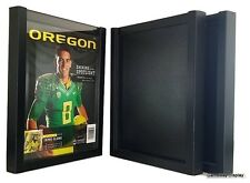 Magazine Display Frame Case Black Shadow Box Standard Lot of 3 B