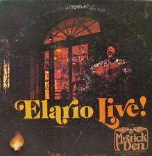 ELARIO Live! at the Mystic Den LP - Signed