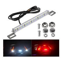 1-Set Adjustable Dual Color Switchback 30SMD LED Light Bar License Plate Brake