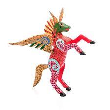 PEGASUS Oaxacan Alebrije Wood Carving Mexican Folk Art Sculpture Painting