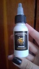 Dragonhawk TATTOO INK 1-PACK Silver White Color 1oz Bottle