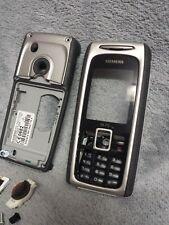 Siemens M75 Handy Gehäuse schwarz #5 C mobile phone case cover housing black