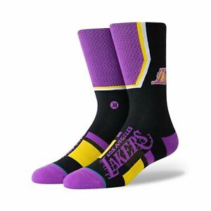Stance Lakers Shortcut Socks - Black