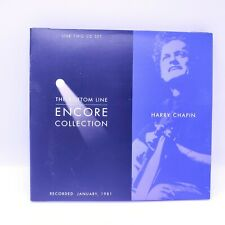 Harry Chapin Encore Collection The Bottom Line Records Live 2 CDs January 1981