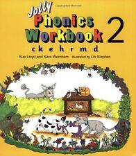 Jolly Phonics Workbook 2: ck, e, h, r, m, d,Susan M. Lloyd, Sara Wernham, Lib S