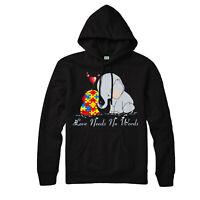 Love Needs No Words Hoodie, Autism, Heart, Mom, Gift, Adult & Kids Hoodie Top