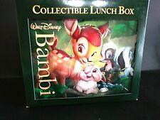 Bambi Collectible Lunch Box Nos Factory Sealed Disney Da22468