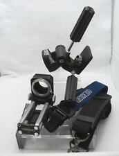 NOVOFLEX 1180 BELLOWS MOUNT, MANFROTTO TRIPOD HEAD 141 & OP/TECH CAMERA STRAP