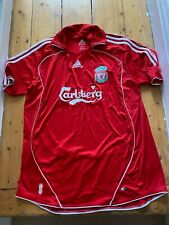 AUTHENTIC LIVERPOOL FC HOME SHIRT (2006-2008 SEASONS), SIZE EXTRA LARGE / XL