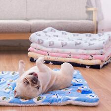 Warm Thicken Pet Soft Fleece Pad Blanket Home Bed Mat Puppy Dog Cat Sofa Cushion