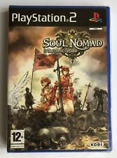 PS2 Soul Nomad & The World Eaters, French Version, New & Factory Sealed