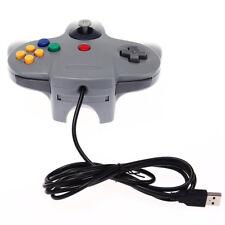 Gaming USB Filaire Contr?leur Joystick Manette pour Console N64 Nintendo-64 GRIS
