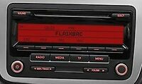 SEAT ALHAMBRA ALTEA LEON RCD 310 MP3 CD RADIO + Code 3 Months Warranty VGC