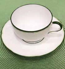 Raynaud Villandry Green Tea Cup And Saucer/discontinued