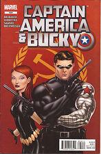 Captain America & Bucky #624 Winter Soldier Black Widow Ed Brubaker Marvel Vf