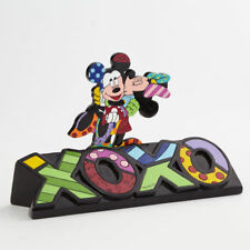 Disney Britto Mickey and Minnie Mouse Lovers Kiss XOXO Figure Figurine 4044111