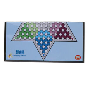 Large Magnetic Folding Chinese Checkers Chequers Classic Strategy Board Game